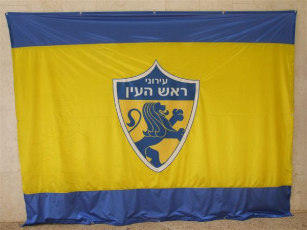 Digital print logo flag