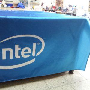 Mantel Intel impreso en tejido stan de 210 por 240 cm