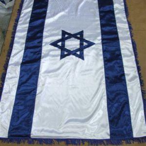 דגל ישראל מבד סאטן