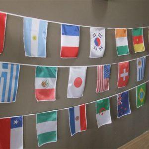 Ожерелья государственных флагов