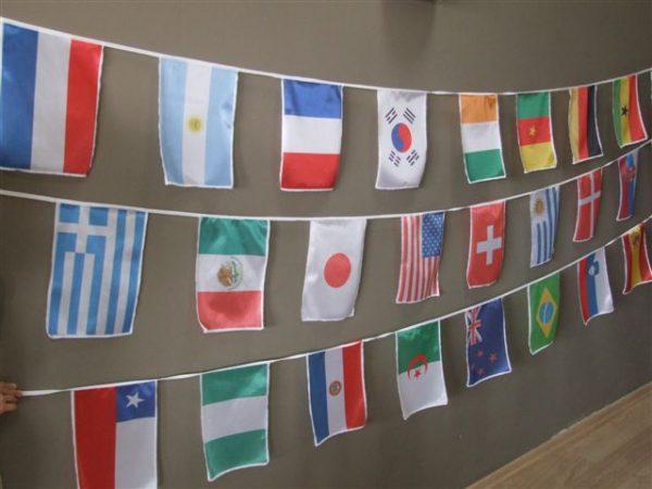 שרשראות דגלי מדינות