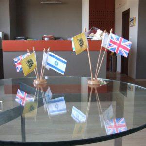 Флаг израильского стола для офиса