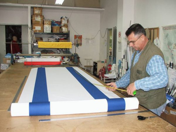 R. and Sewing the Israeli Flag for the 66th Independence Day of the State of Israel 2014 and Memorial Day of various sizes and according to order