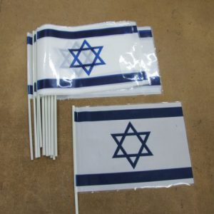 Израиль флаг размахивая