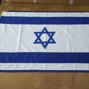 דגל ישראל תפור מבד כותנה