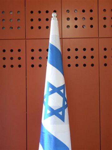 ראש דקורטיבי להתקן חרוט למעמד דגל