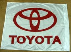 דגל לוגו בהדפסת משי